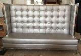 (SD-4007) Muebles de cena modernos del restaurante del hotel para el sofá de cuero de la cabina