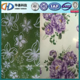 Bobine en acier enduite d'une première couche de peinture des fleurs fabriquées en Chine