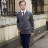Vente en gros neuve de blazer d'uniformes scolaires de mode
