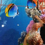 Azulejos de cerámica cristalinos nanos de la pared del fondo del material de construcción de la decoración del mundo del océano