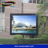 Tablilla de anuncios al aire libre finalmente procesada de LED del alquiler P10