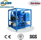 Sistema usado do purificador de petróleo da turbina do vácuo aquecimento móvel