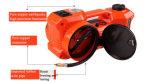전기 렌치 및 공기 펌프를 가진 3개의 기능 전기 유압 들개
