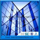 三重の銀製の低いEのコーティングが付いている低いU値の建物ガラス