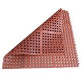 De rubber Mat van de Mat van de Badkamers van de anti-Moeheid van de Mat van de Drainage Rubber Zuurvaste Rubber