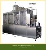 Машины коробки минеральной вода заполняя и упаковывая
