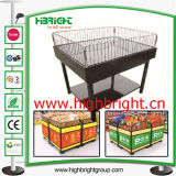 Metallo Foldable Promotuion Table Desk per Supermarket