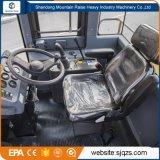 Cargador Zl50 de la rueda de las partes frontales de China 5t con la palanca de mando experimental