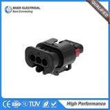 Asamblea de cable automotora de los conectores del alambre 1488991-1