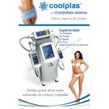 Máquina de congelación gorda del Liposuction fresco de la tecnología de Cryotherapy de la maneta de 3 Cryo