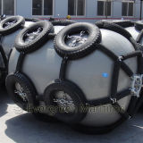 Пневматический обвайзер с клеткой P50 автошин цепей для пользы верфи от поставщика изготовления Китая