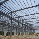 Taller de la estructura de acero con la columna de acero galvanizada