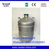 Recipiente pequeno do tanque do nitrogênio líquido de armazenamento criogênico