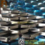 마름모꼴 모양 알루미늄에 의하여 확장되는 금속 장