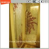 ホテルのための革、ファブリック中間膜および構築が付いている薄板にされたガラス