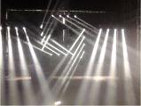 4 헤드 RGBW 크리 사람 LED 광속 이동하는 맨 위 디스코 점화