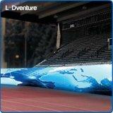 Signage ao ar livre do diodo emissor de luz Digital do estádio do esporte da cor cheia