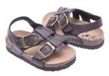 Le santal en cuir confortable badine les chaussures de Borken (SDBK3004)