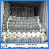 Belüftung-beschichtetes und galvanisiertes Kettenlink-Gewebe Rolls