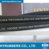 납품 연료를 위한 고무 유압 연료 호스 SAE R6 호스, R6 유압 호스