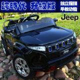 Kind-elektrisches Jeep-Auto, elektrische Fahrt auf Spielzeug-Auto