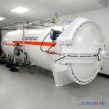 вулканизатор роликов горизонтального нагрева электрическим током 2800X8000mm резиновый (SN-LHGR28)