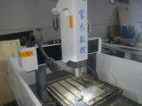 Fresadora del metal del CNC para la medalla de la moneda de la divisa