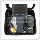 """3.5 """" TFT LCD Cvbs 아날로그 CCTV 사진기를 위한 휴대용 영상 안전 검사자"""