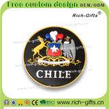 チリ(RC-CE)の記念品の昇進のギフトPVC冷却装置磁石のフラグ