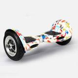 [ووأوسن] تصميم جديدة ذكيّة كهربائيّة لوح التزلج [إ] [سكوتر] اثنان عجلة ينجرف نفس كهربائيّة يوازن دراجة 10 بوصة [سكوتر] كهربائيّة ([و003])