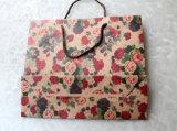 クラフトプリント紙袋のショッピングギフトのアートペーパーのキャリアの文房具の電話ギフトのおもちゃの文書ファイルの本のペン(a102)のための装飾的な宝石類のパッキング袋