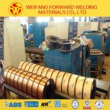 Alambre de soldadura revestido del cobre del CO2 del alambre del MIG (fabricante del oro de China)