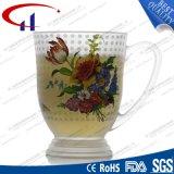 270ml Decaled Blumen-Glaswasser-Cup (CHM8098)