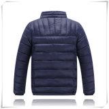 Unisex куртка отдыха полиэфира взрослых зимы способа Windproof водоустойчивым выстеганная военно-морским флотом вниз