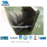 Pára-choque de borracha marinho do cone do equipamento marinho para o navio e a doca