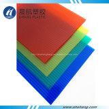 el panel de la depresión del policarbonato de 4mm~12m m con la capa ULTRAVIOLETA 50um