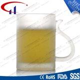 caneca branca super da água do vidro 290ml geado (CHM8101)