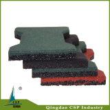中国の工場屋外のための耐久のゴム製床のペーバーのタイル