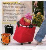 Хозяйственная сумка вагонетки хозяйственной сумки завальцовки хозяйственной сумки колеса