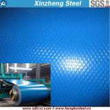 (0.14mm-0.8mm) PPGI gravado Prepainted a bobina de aço galvanizada para a telhadura