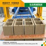 Bloque automático del cuarto de galón 4-15c de la máquina de fabricación de ladrillo del cemento el presionar masivo