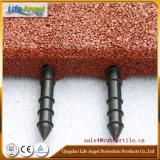 Плитка напольной спортивной площадки резиновый/резиновый циновка/резиновый пол