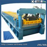 L'acier ondulé laminent à froid former la machine pour l'exportation