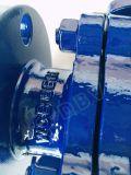 Valvola a sfera di galleggiamento della flangia di Wcb della leva di JIS 10k