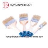 Cepillo de pintura de la cerda con la manija de madera (HYW008)