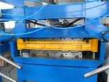 Rullo livellato doppio della parete del tetto dell'impilatore automatico che forma macchina