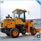 中国の農場トラクターのローダー、セリウムを持つ1トンの車輪のローダー