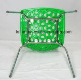 Preiswerter allgemeiner Plastikstapel-Nachrichten-Stuhl, Gaststätte, die Stuhl (LL-0068, speist)