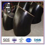 Acero de carbón de la instalación de tuberías del codo inconsútil