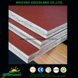 Le film en bambou a fait face à contre-plaqué marin de contre-plaqué/en bambou/à contre-plaqué Shuttering de bambou film de Brown pour la construction